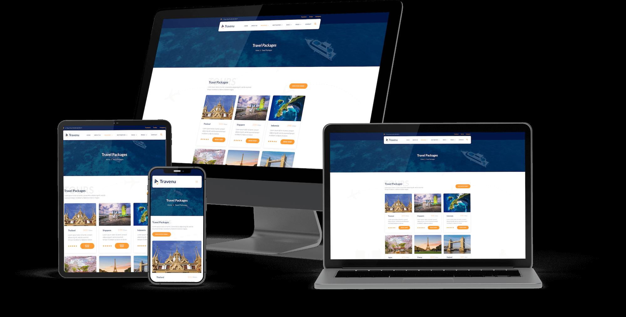 Website de booking